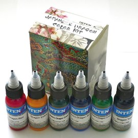 Intenze Intenze Dragon Color Tattoo Ink Set
