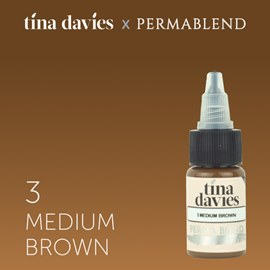 "Perma Blend ""Tina Davies 'I Love INK' 3 Medium Brown"""