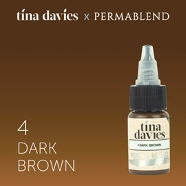 "Perma Blend ""Tina Davies 'I Love INK' 4 Dark Brown"""