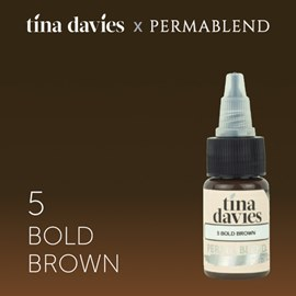 "Perma Blend ""Tina Davies 'I Love INK' 5 Bold Brown"""